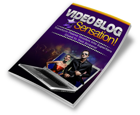 Product picture HOT! - Video Blog Sensation with PLR