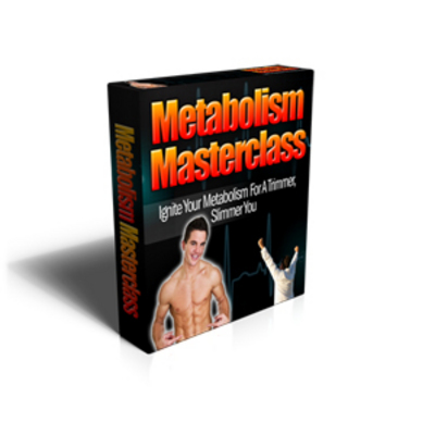 Product picture HOT! - Metabolism Masterclass with PLR