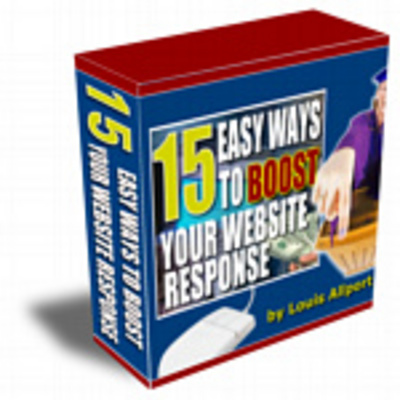 Product picture 15 Easy Ways to Boost your Website Response