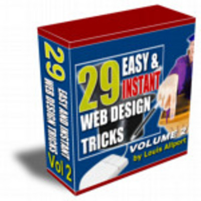 Product picture 29 Easy & Instant Web Design Tricks Volume 2